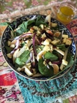 Fall Salad with Pear Vinaigrette